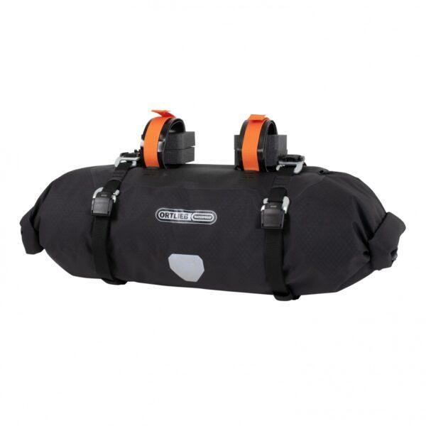 bolsa bikepacking para el manillar de la marca ortlieb de 9 litros