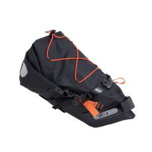 Una bolsa de sillín Ortieb de 11 litros especial para la rutas más exigentes de bikepacking